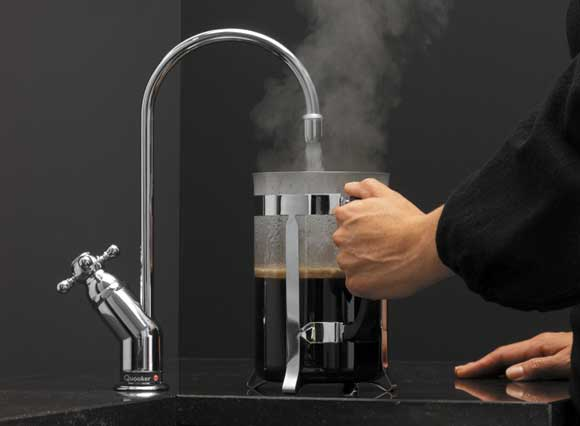 Quooker boiling-water tap