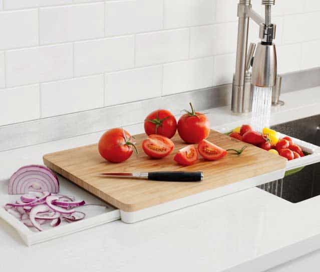 Chef'n Prepstation 3 in 1 cutting board