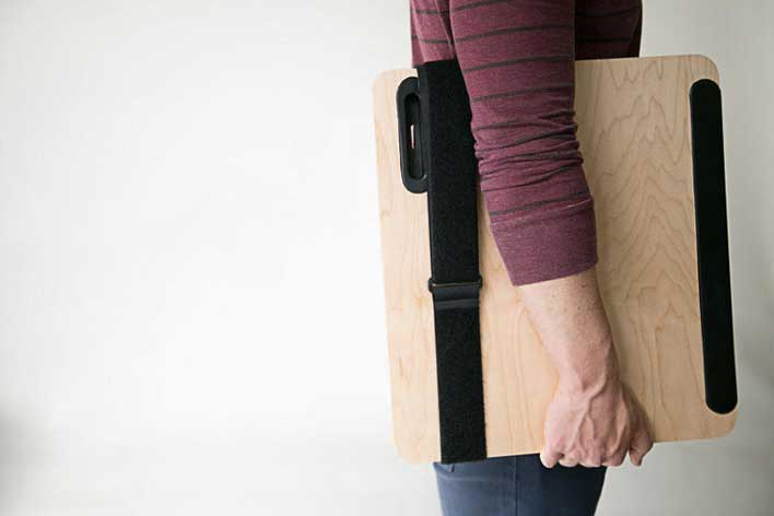 the most portable standing desk