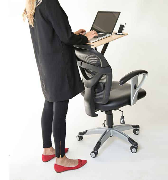 StorkStand, the portable standing desk
