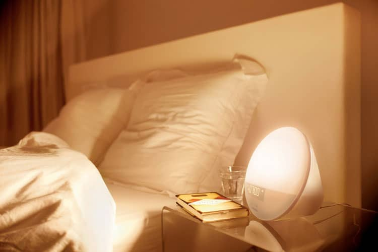 artificial dawn wake up light