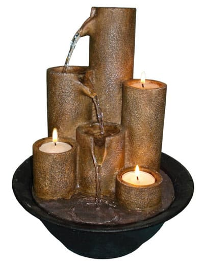 Alpine-WCT202-Tabletop-Fountain-3-Candles