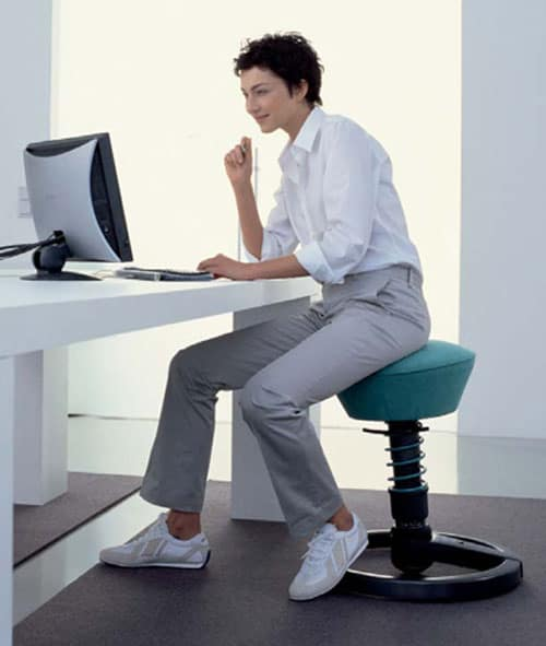 superior office chair alternative: the Swopper Stool
