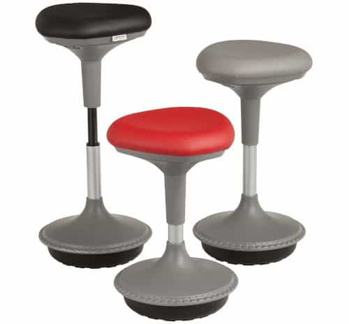 Learniture stool, a popular ergnomic workstation seat