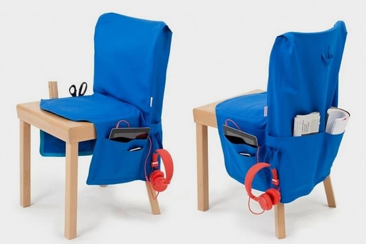 Big Baggy is like a door organizer for chairs