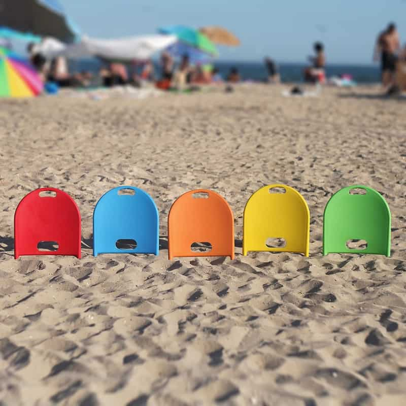 "Beach Thingy, a ""plugin"" beach chair"