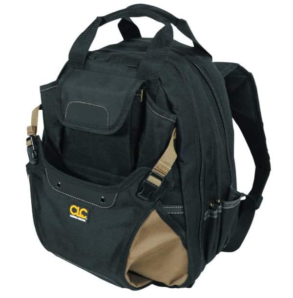 carpenters tool backpack for all kinds of pros
