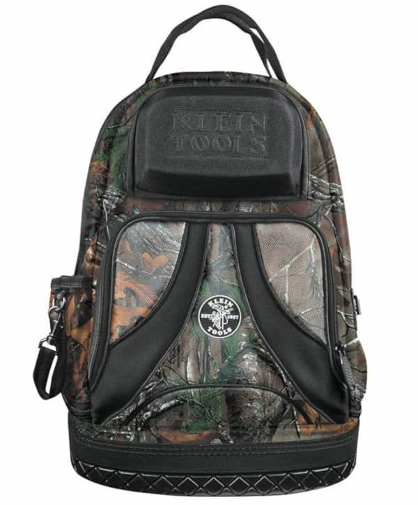 camo tool backpack by Klein Tools