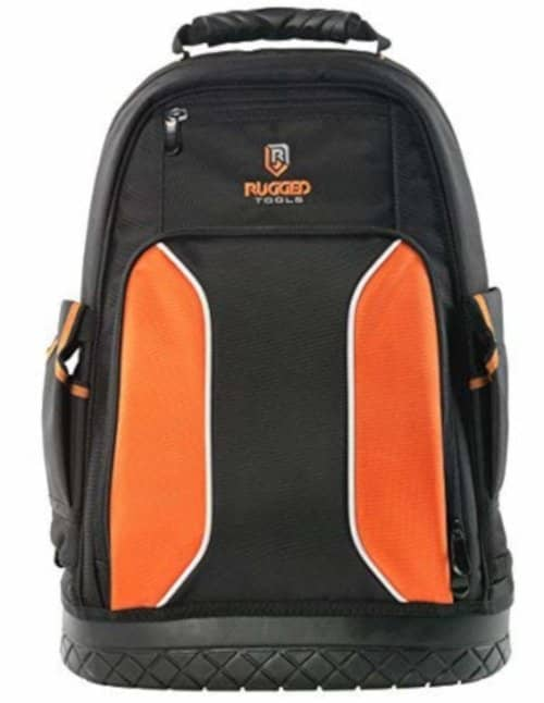 jobsite backpack for contractors, carpenters, HVAC technicians and other professionals