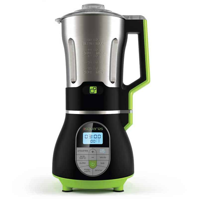 SOUP3RB Cook + Blend Blender with Built-In Heating Element