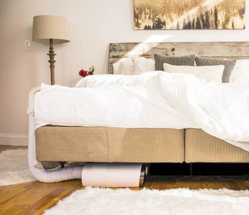 smart climate control system for beds