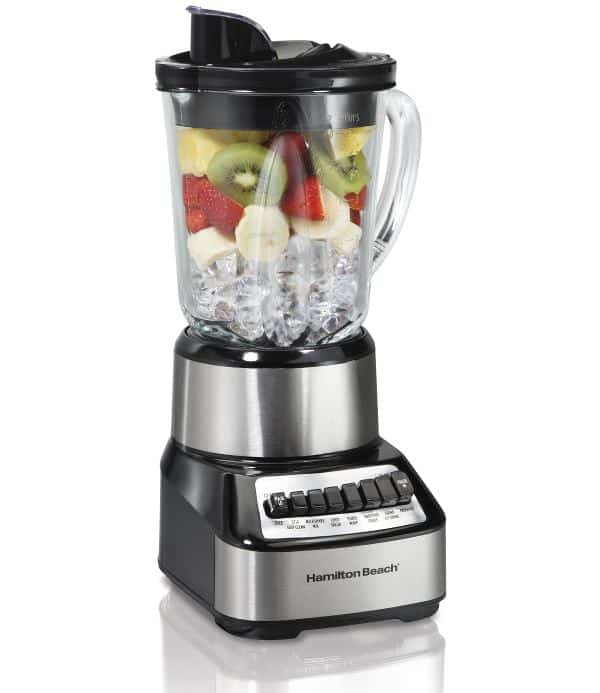 a blender makes eating healthy easier and less time-consuming