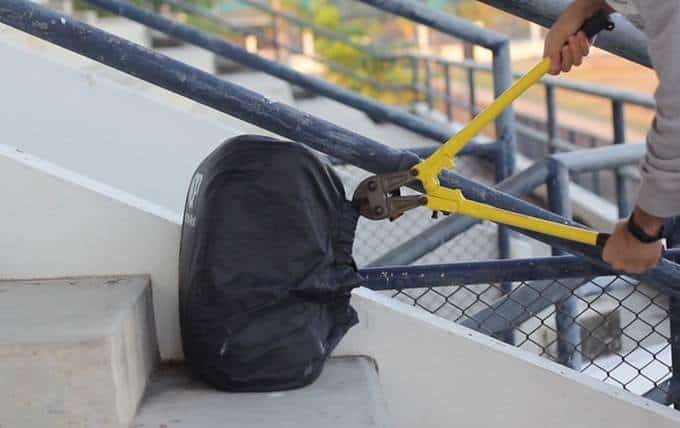 anti-theft backpack cover