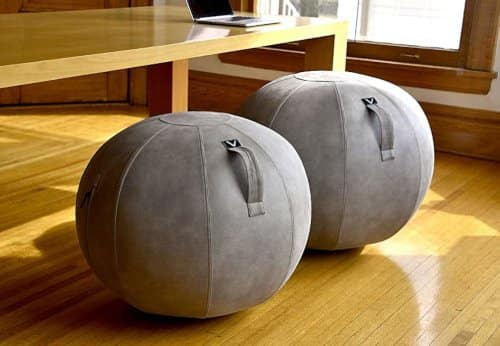 the fashionably elegant and sophisticated ball chair