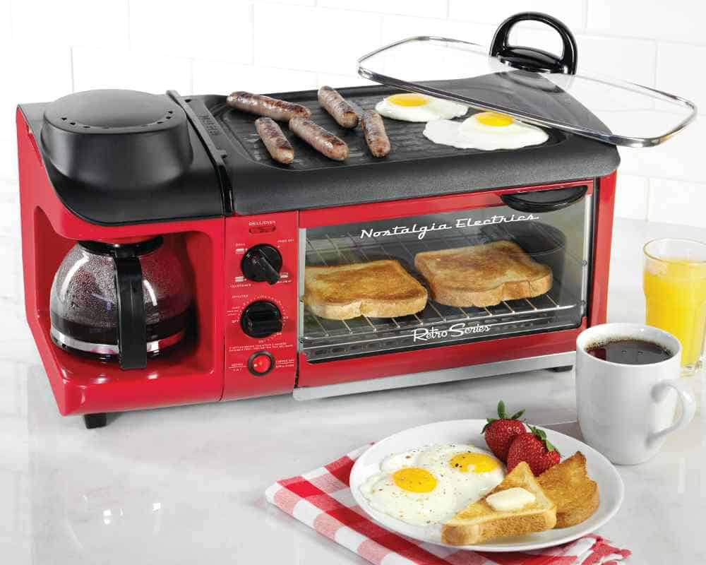 versatile breakfast cooking device
