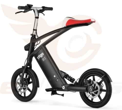 innovative electric folding bike