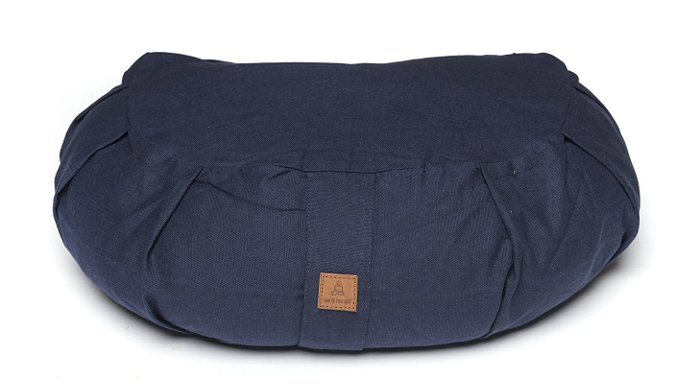 buckwheat filled yoga cushion