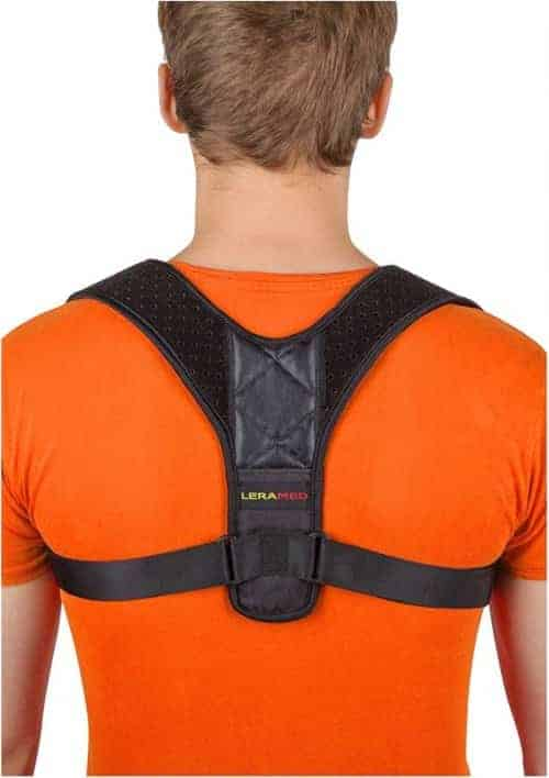 posture corrector brace for men and women reduces hunching