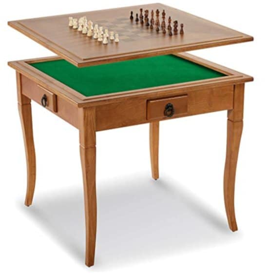 elegant chess and boardgame table