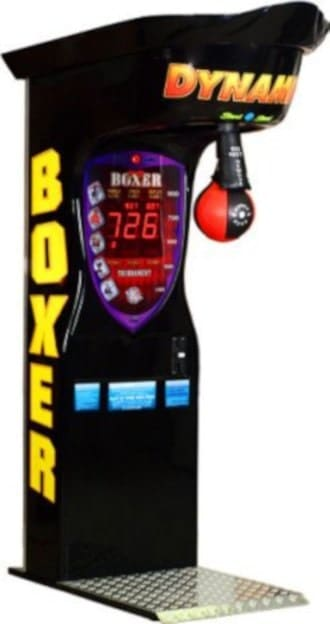 game room idea: boxing machine