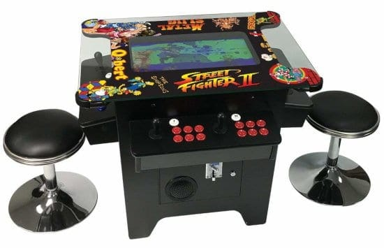 coctail arcade machine with 1162 games in 1 with 80's and 90's classics
