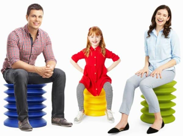 ergoergo stool allows you to wiggle and wobble thus building a stronger and more flexible core