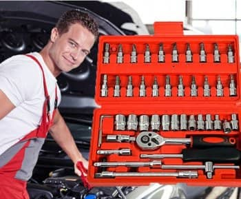 a quality socket wrench set is a must-have in any car repair shop