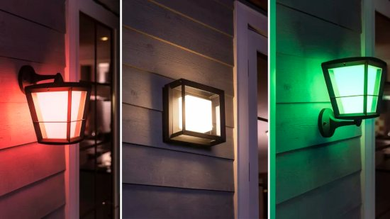 highlight your outdoor areas with smart mood lights
