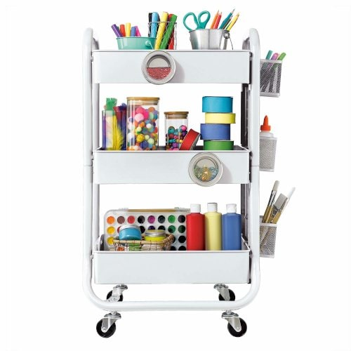 rolling utility cart makes great addition to the craft room