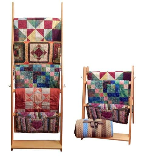 display your quilts in style while saving space