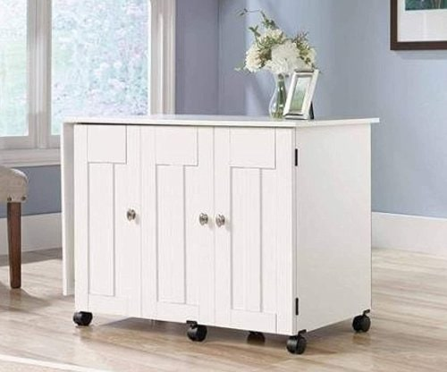 sauder table with drop leaf ideal for craft rooms