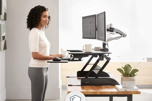 best selling sit stand computer workstation