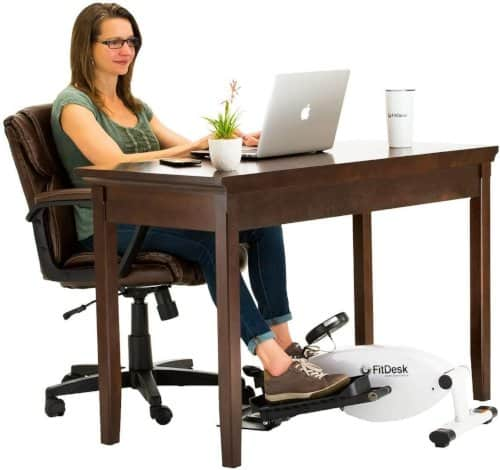 under desk exercise machines can help reduce the adverse effects of sitting all day